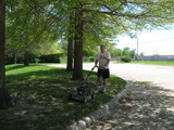 Optimist Park Boeckman Push Mowing-05/03/2020